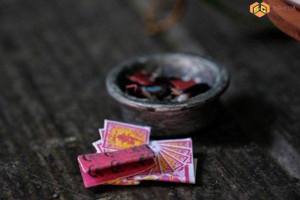 Bộ giấy tiền vàng mã – Mô Hình Sài Gòn Xưa