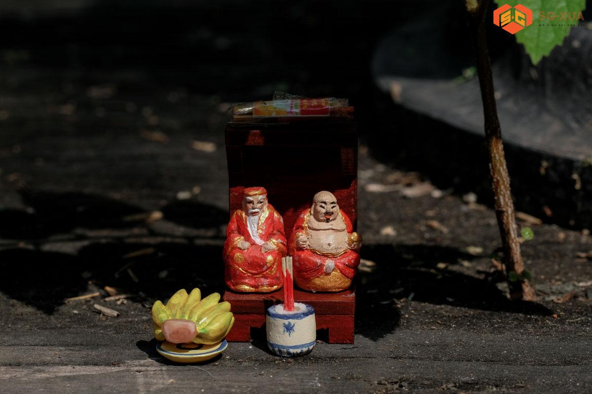 Bộ thần tài thổ địa – Mô Hình Sài Gòn Xưa