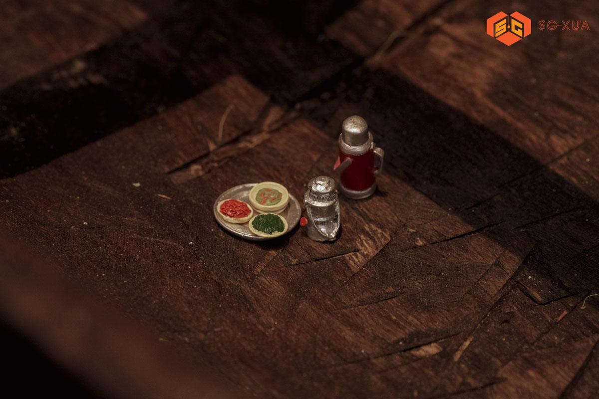 Bộ mâm cơm bàn nước – Mô Hình Sài Gòn Xưa