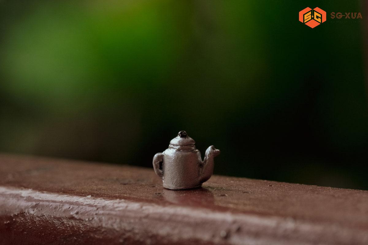 Ấm trà – Mô Hình Sài Gòn Xưa