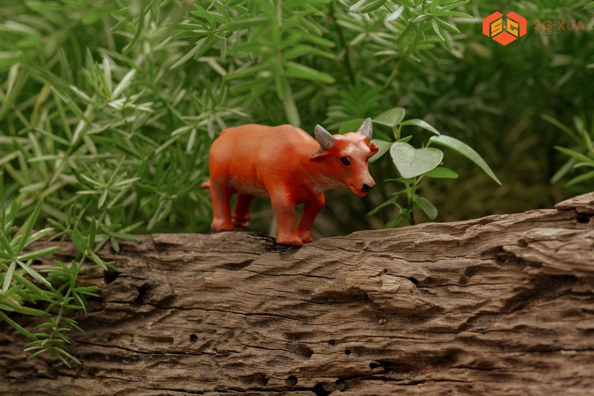 Con bò – Mô Hình Sài Gòn Xưa