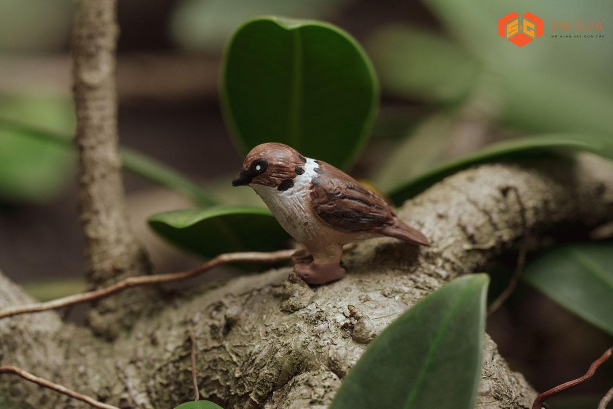 Chú chim – MÔ Hình Sài Gòn Xưa