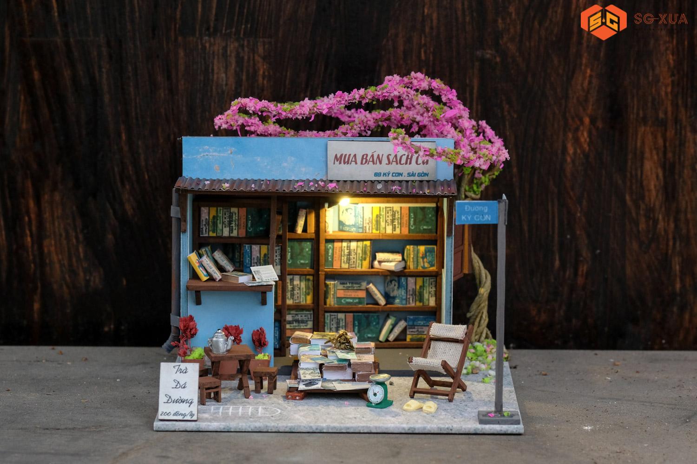 Tiệm sách cũ – Mô hình Sài Gòn Xưa