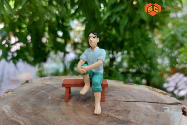 Anh Ba Si Tình- Mô Hình Sài Gòn Xưa