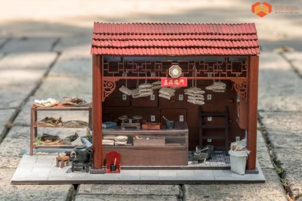Tiệm Thuốc Bắc – Mô hình Sài Gòn Xưa