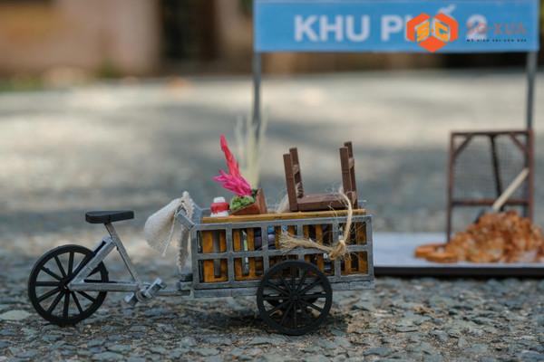 Xe Ba Gác – Mô hình Sài Gòn Xưa