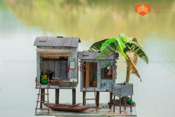 Nhà Trên Sông- Mô hình Sài Gòn