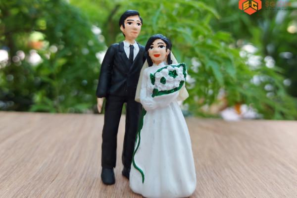 Cô Dâu,Chú Rể – Mô Hình Sài Gòn Xưa